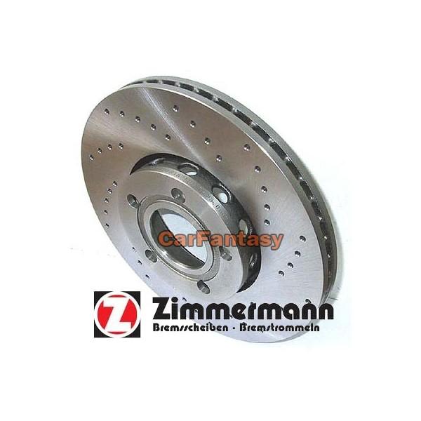 Zimmermann Performance Sport Remschijf Opel Astra G Zonder ABS 0